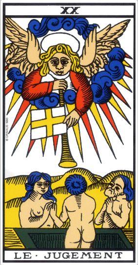 Tarot Wiki: Le Jugement (tarot)