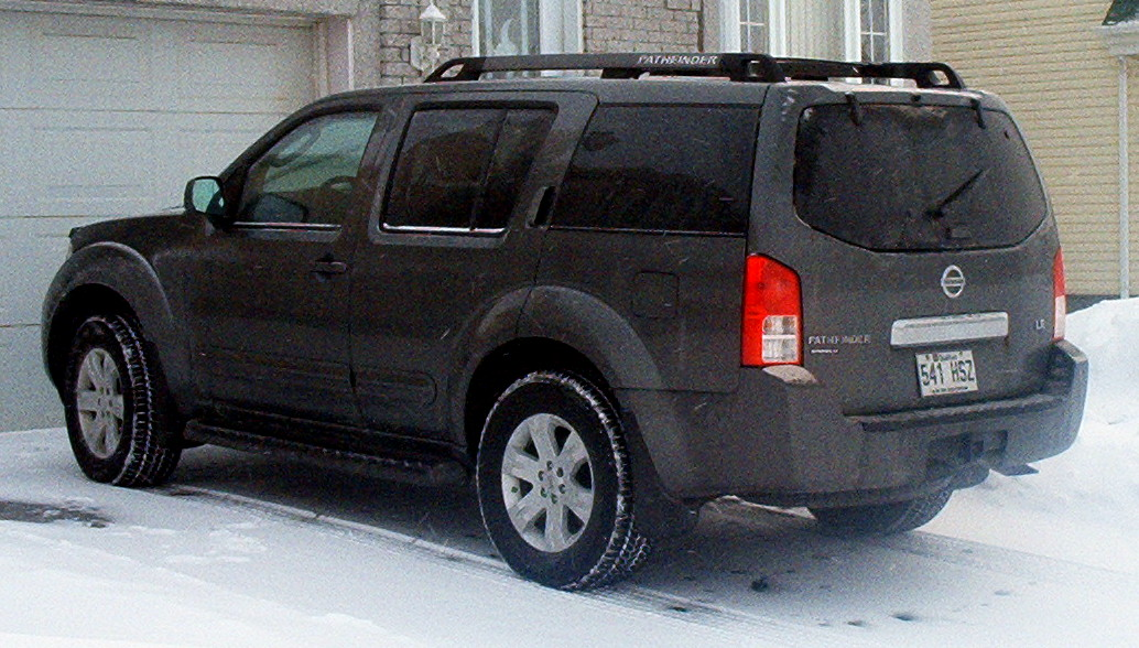 2005 nissan pathfinder se off road 4dr suv 4 0l v6 auto. Black Bedroom Furniture Sets. Home Design Ideas