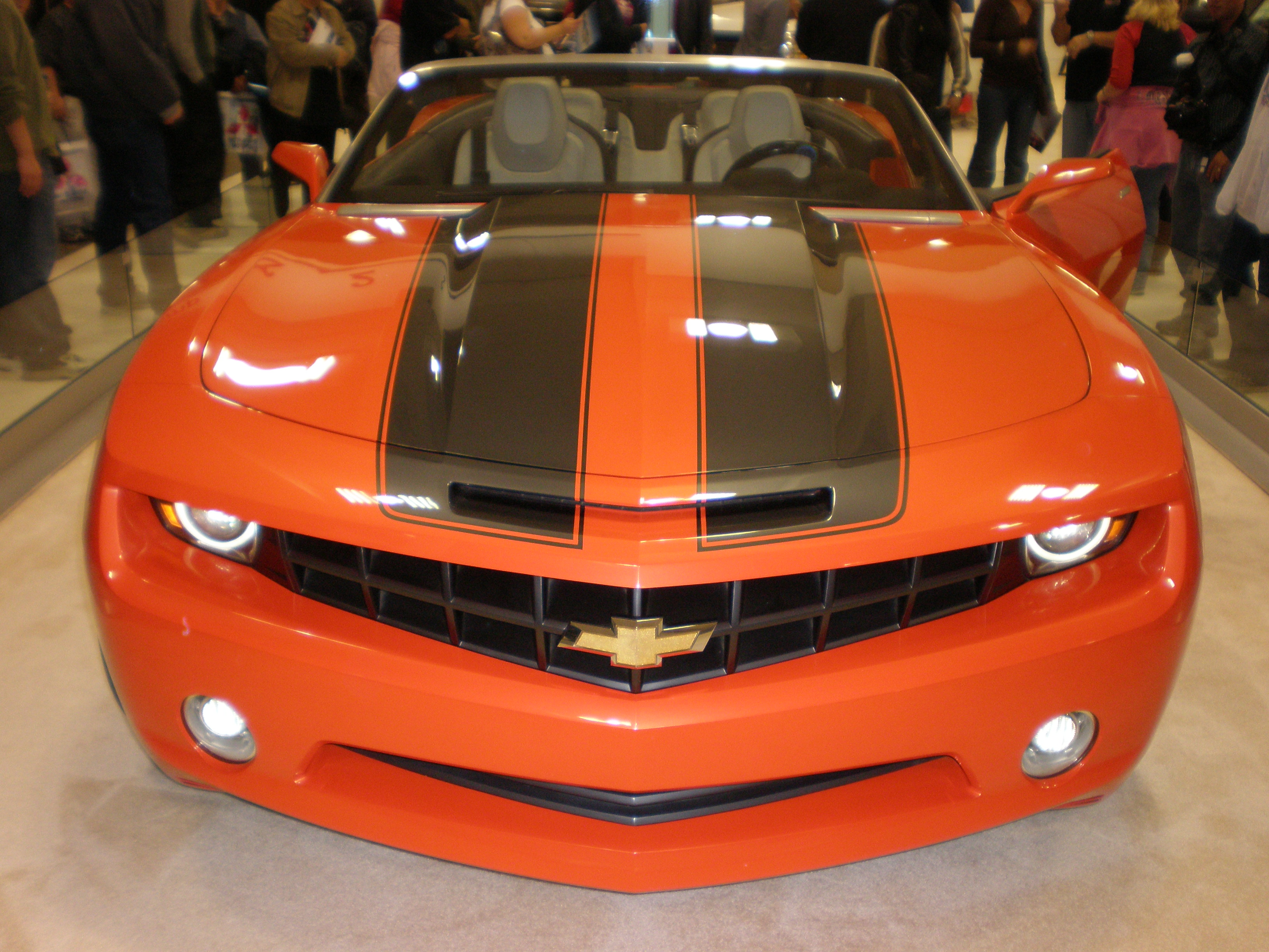 Chevrolet camaro convertible concept 2007 auto design tech