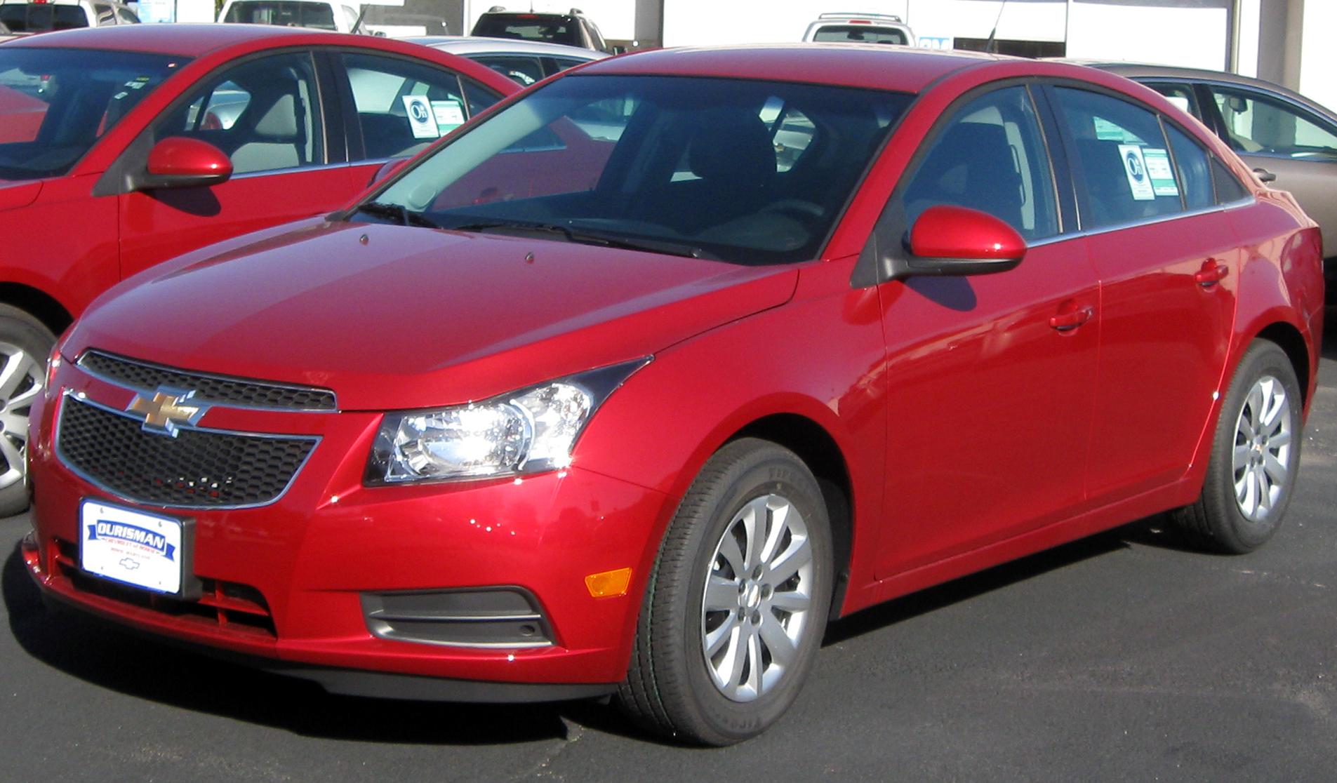 File 2011 Chevrolet Cruze Lt 10 22 2010 Jpg Wikimedia Commons