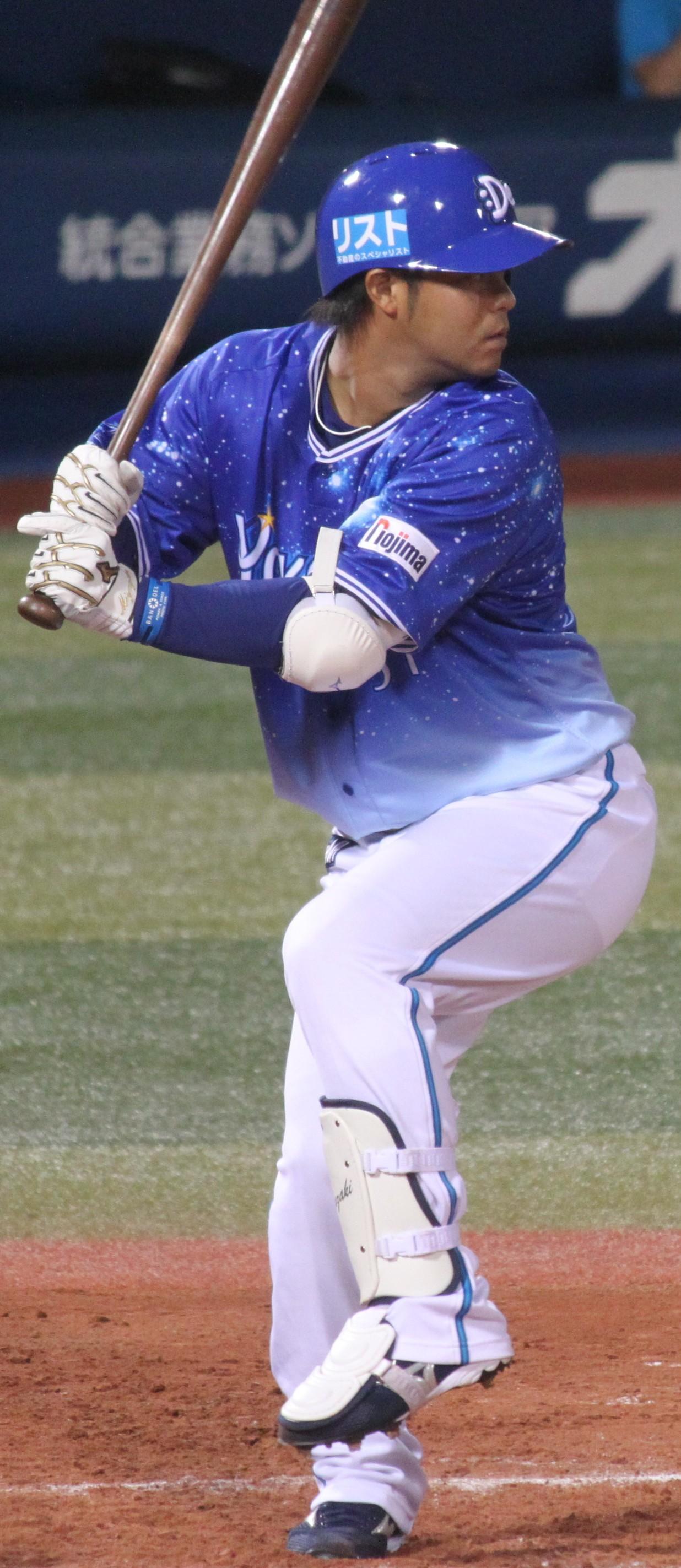 File:20130803 Tosiro Miyazaki, infielder of the Yokohama DeNA ...