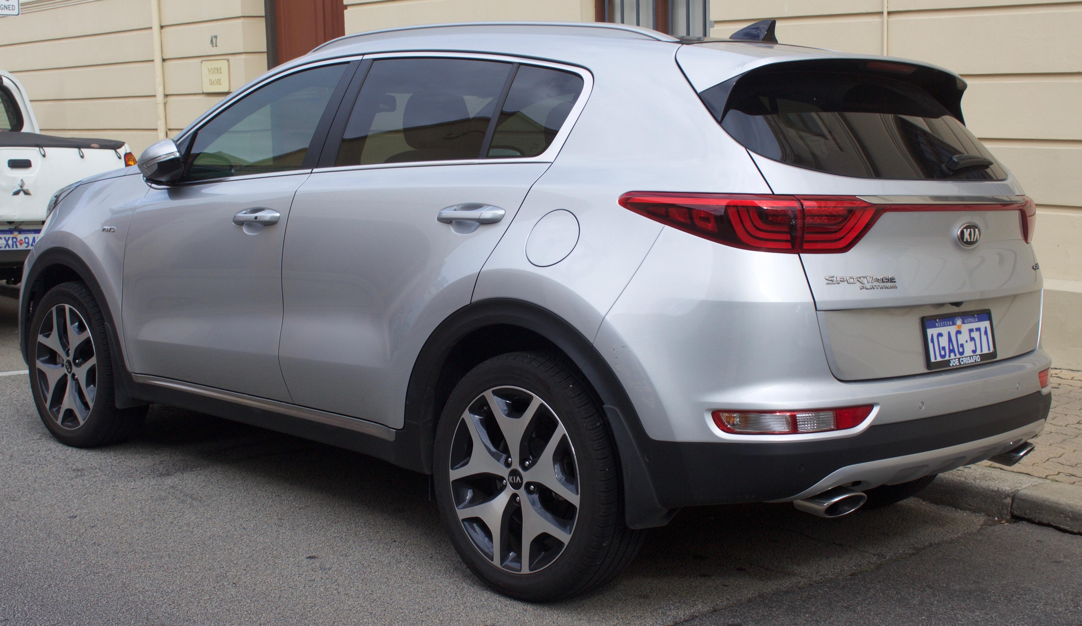 File 2016 Kia Sportage Ql My17 Platinum Wagon 2017 07 15 02 Jpg