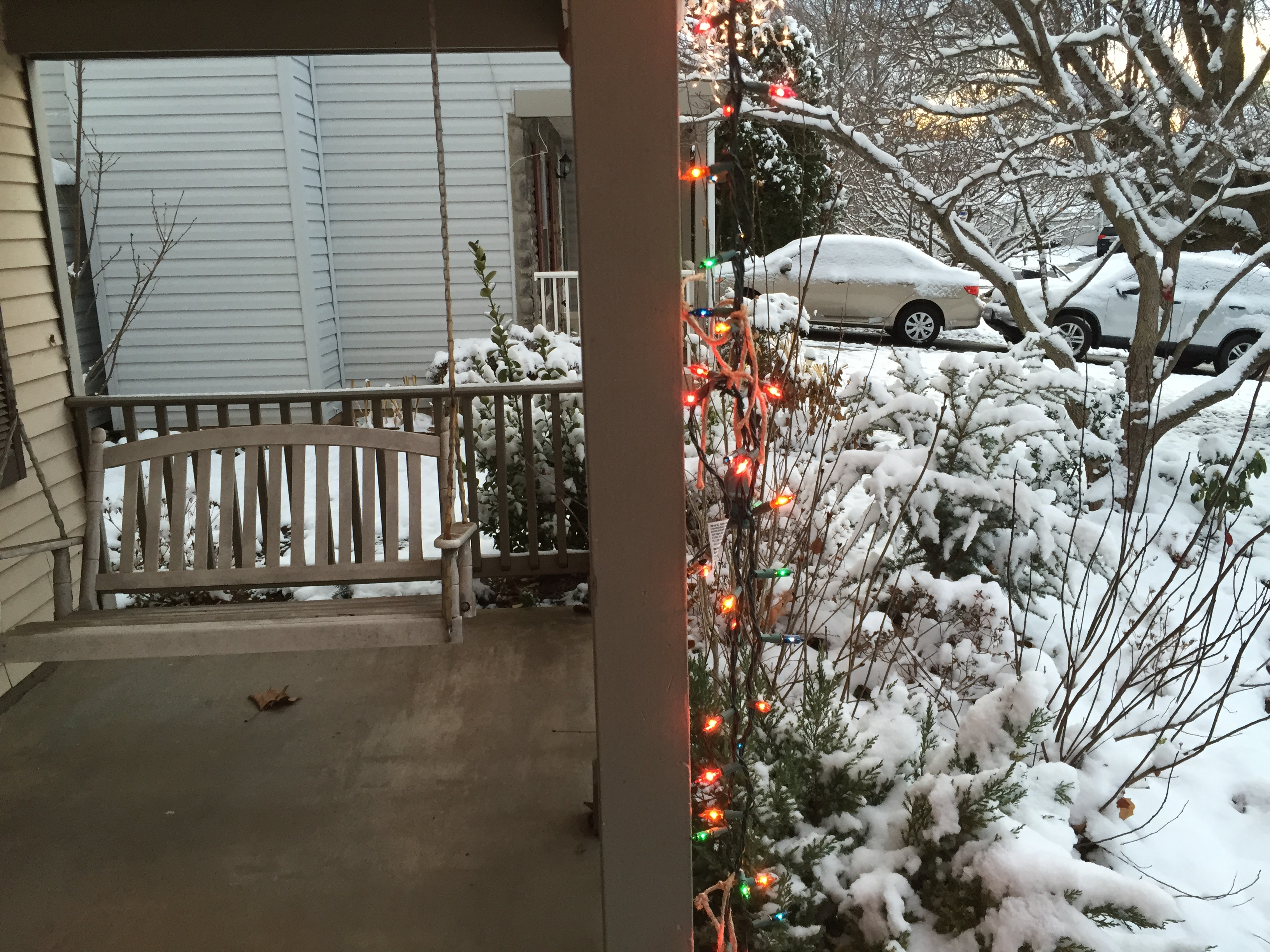 File:2017-12-10 07 16 14 A porch, Christmas lights and snow covered ...