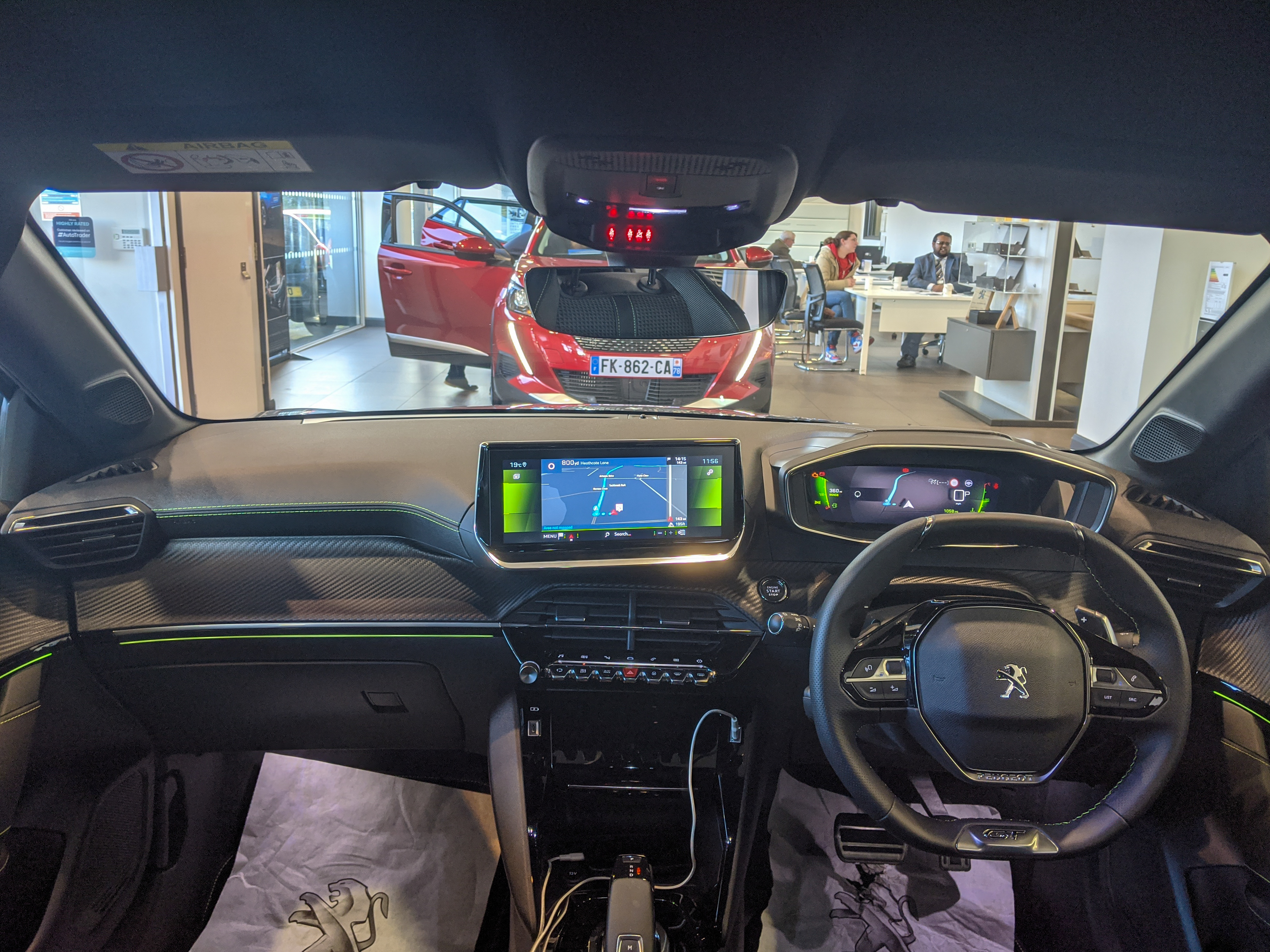 Ficheiro 2019 Peugeot 208 Gt Line Puretech Automatic 1 2 Interior Jpg Wikipedia A Enciclopedia Livre