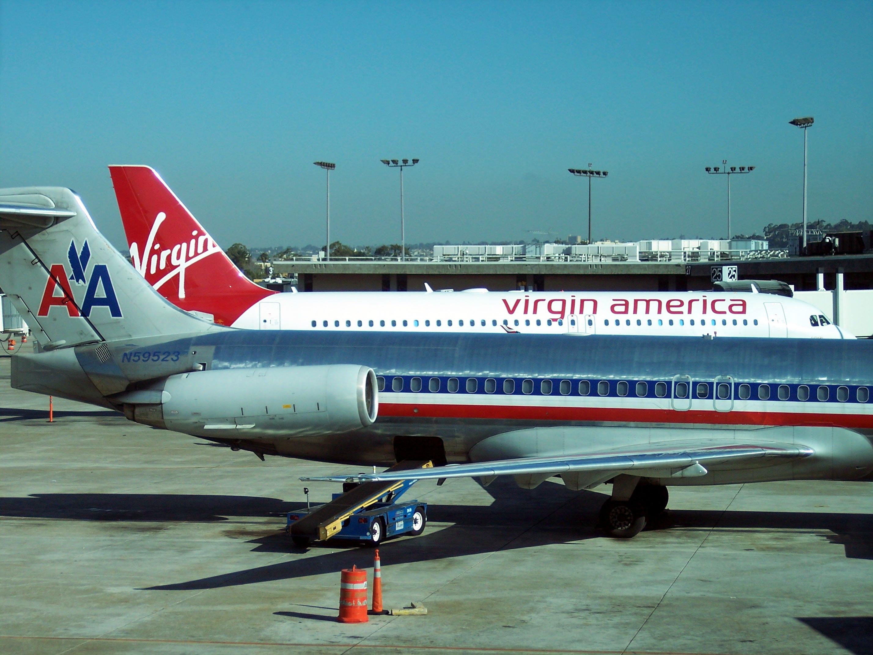 virgin airports