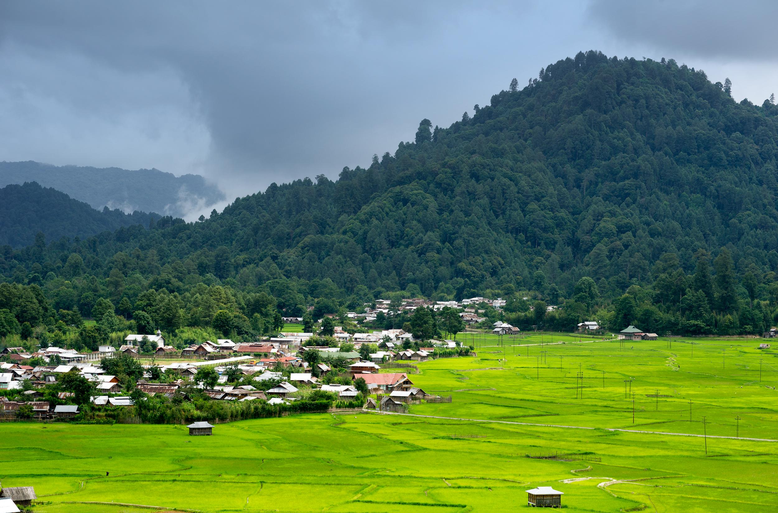 Top 5 Offbeat Monsoon Destinations In India  - Ziro Arunachal Pradesh