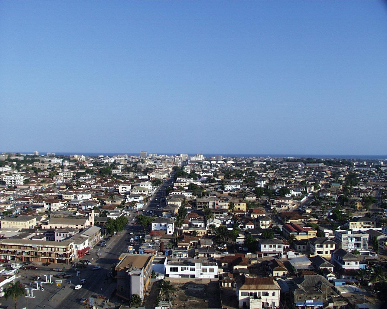 Accra Ghana  city photo : Accra Skyline 2 Wikipedia, the free encyclopedia