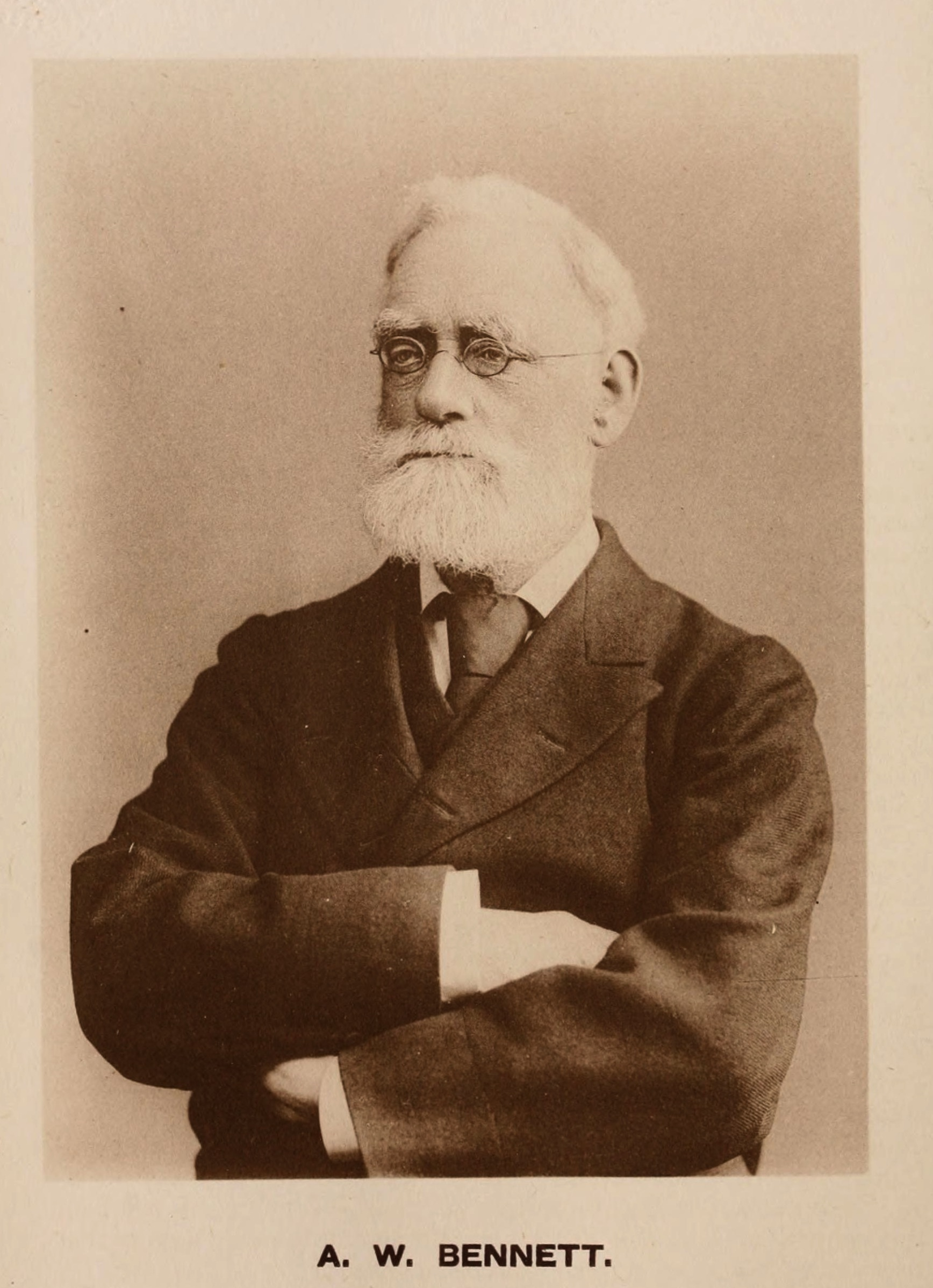 Image of Alfred William Bennett from Wikidata
