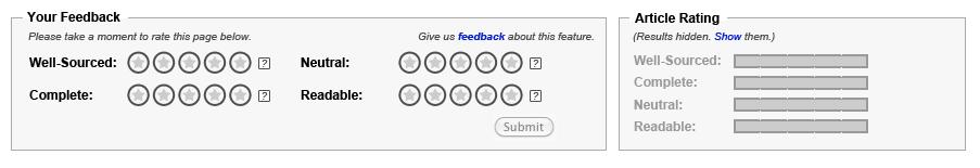 Article feedback tool
