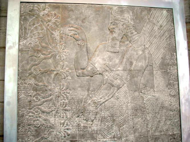 Assyrian Genie - Yale University Art Gallery.jpg