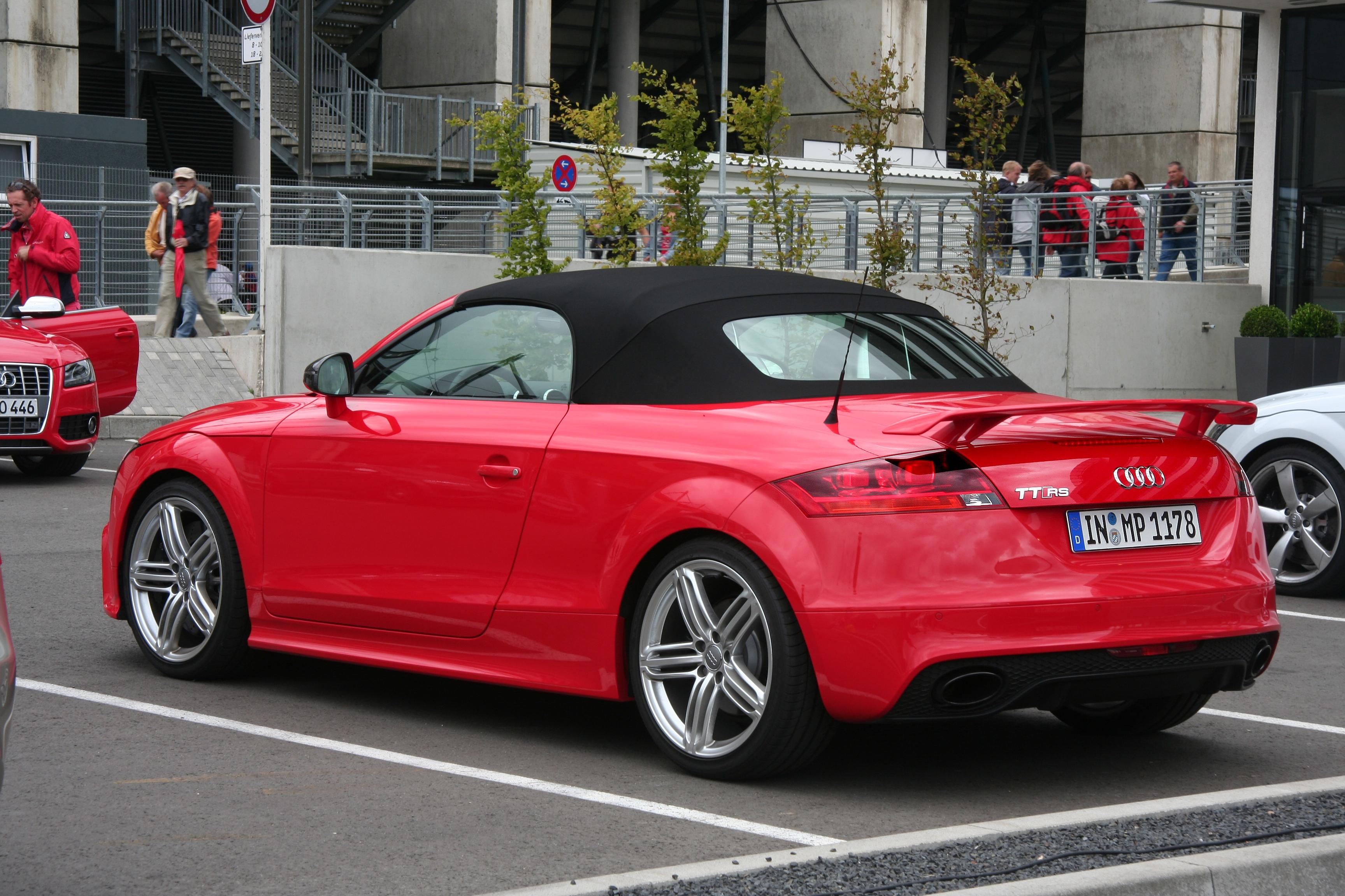 File Audi Tt Rs Roadster 2011 08 13 Sp Jpg Wikimedia