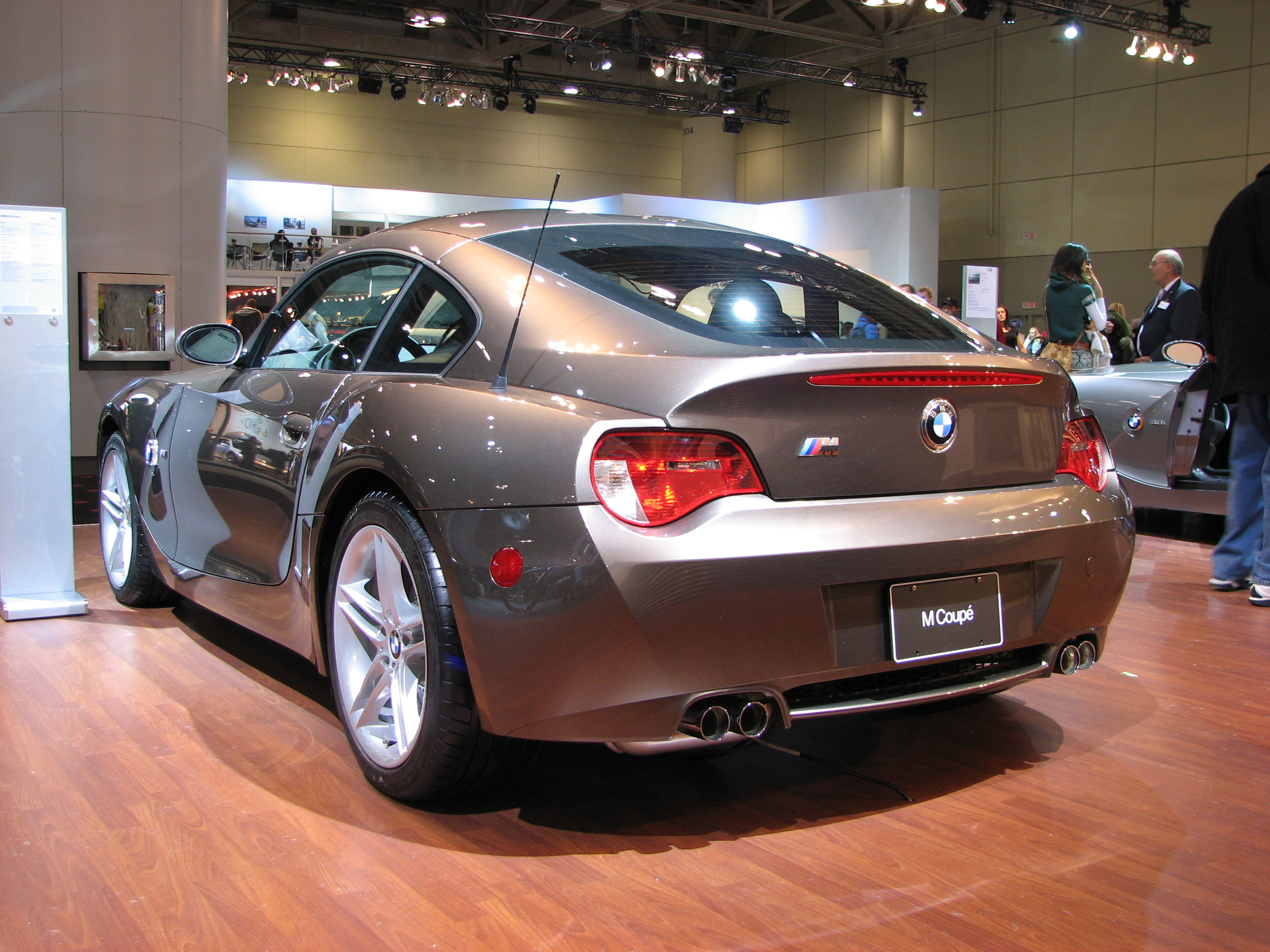 File Bmw Z4 M Coupe Jpg Wikimedia Commons