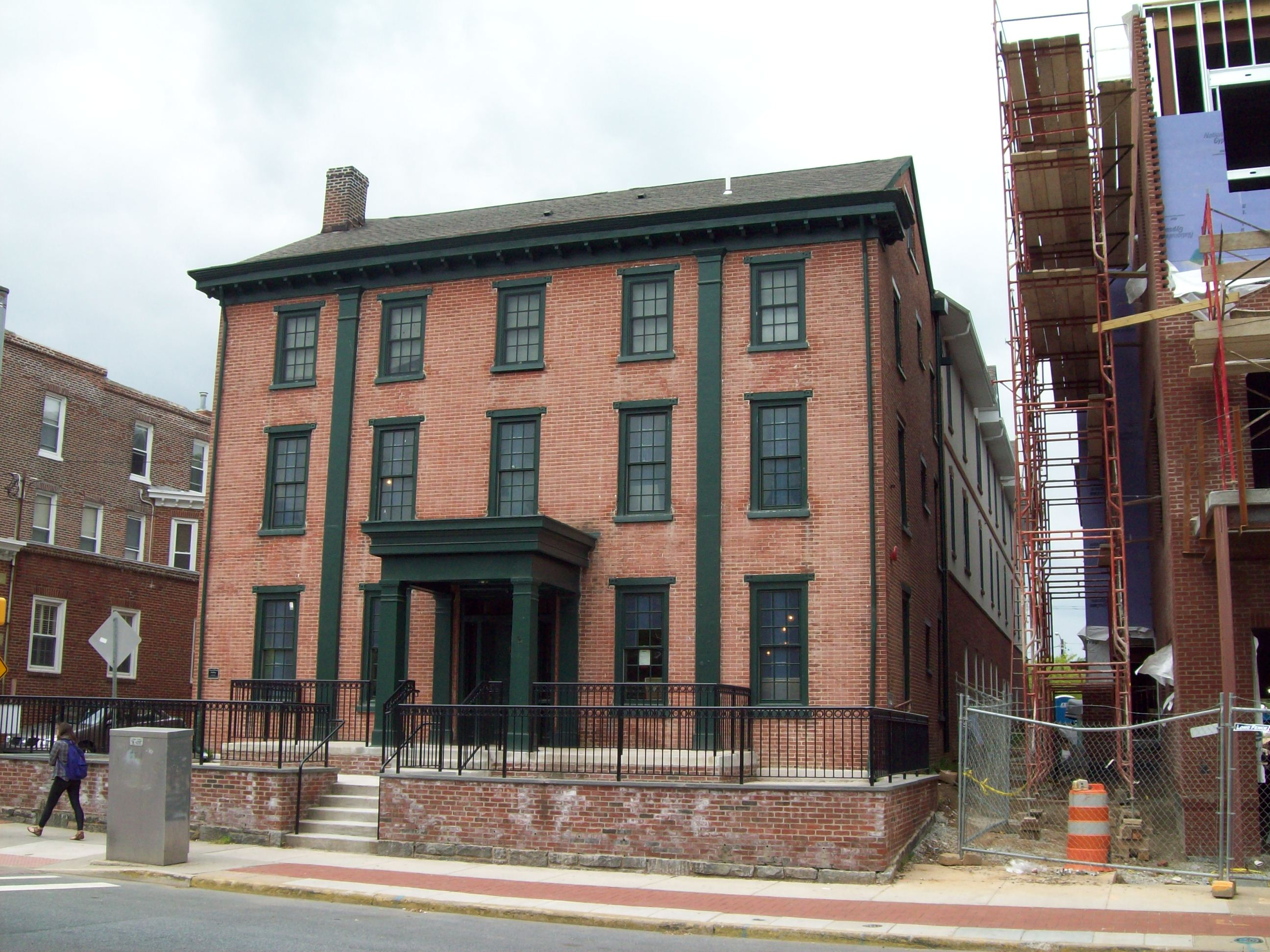 Historic Brick Building Spring St Near Lafayette New York City