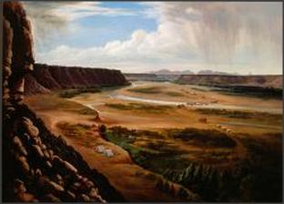 Basin of the Rio Gila, Arizona