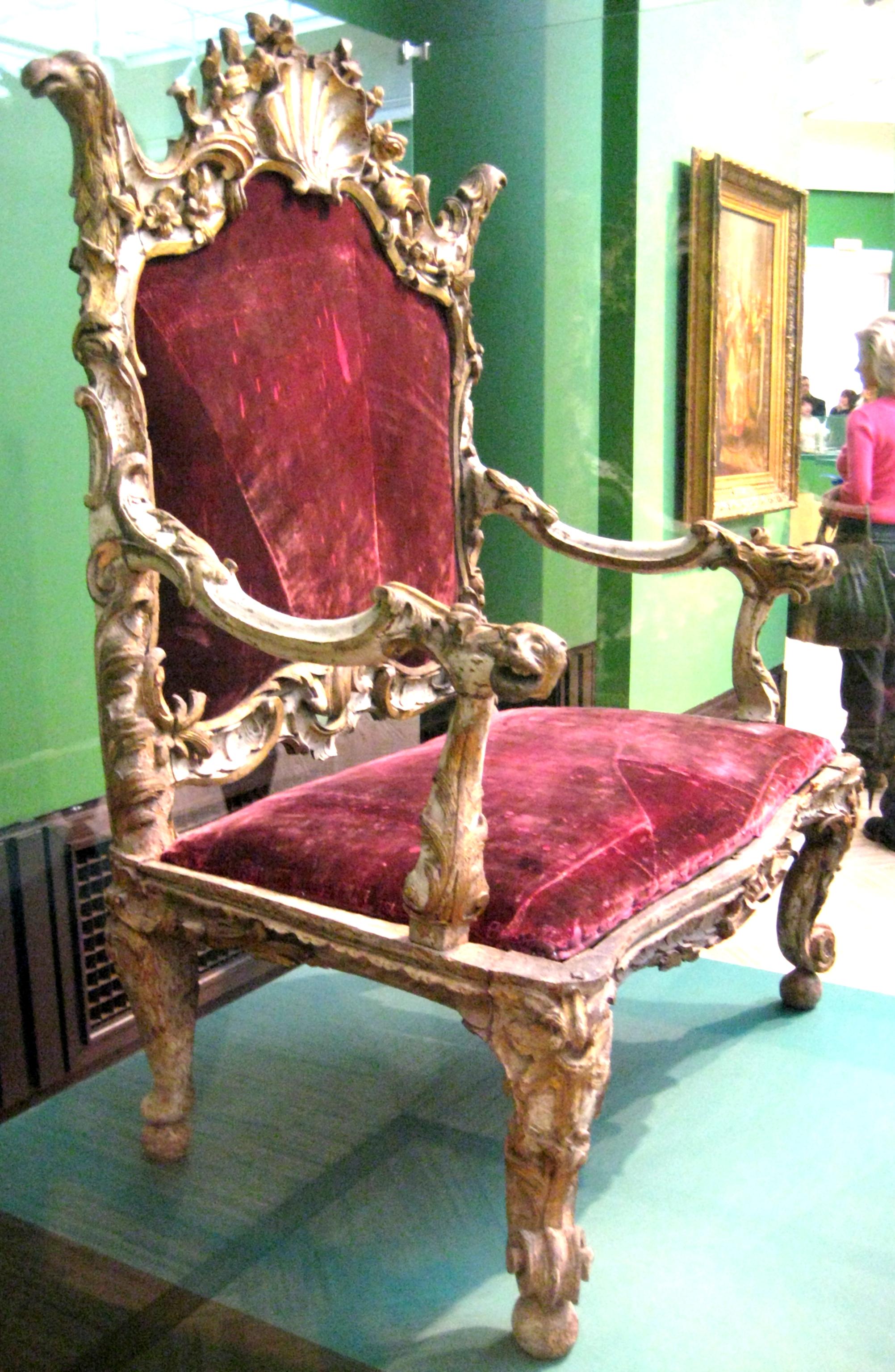Merveilleux File:Bishopu0027s Chair (Russia, 18 C.