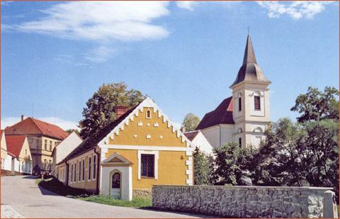 kostel sv. Martina v Bošilci