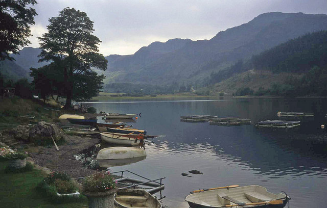 Boats at Llyn Crafnant - geograph.org.uk - 1436933