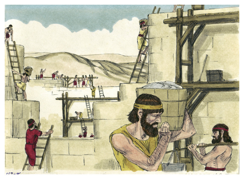 Image Result For Ezra Rebuilding The
