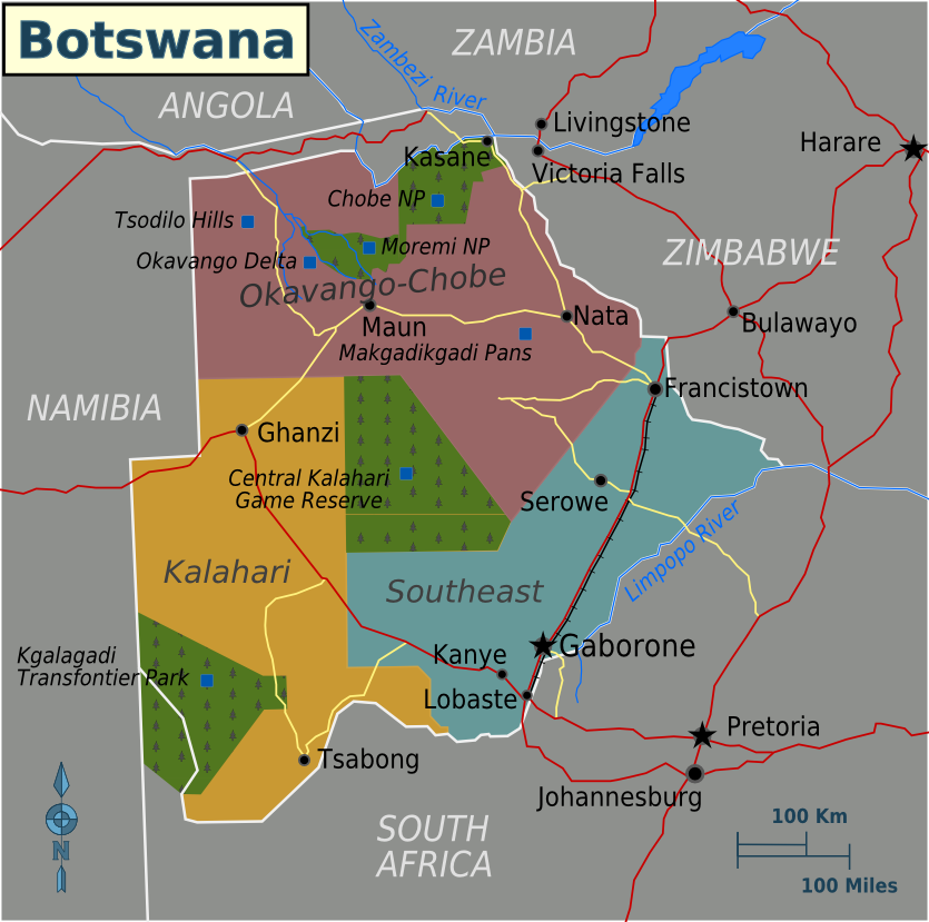 Botswana Travel guide at Wikivoyage