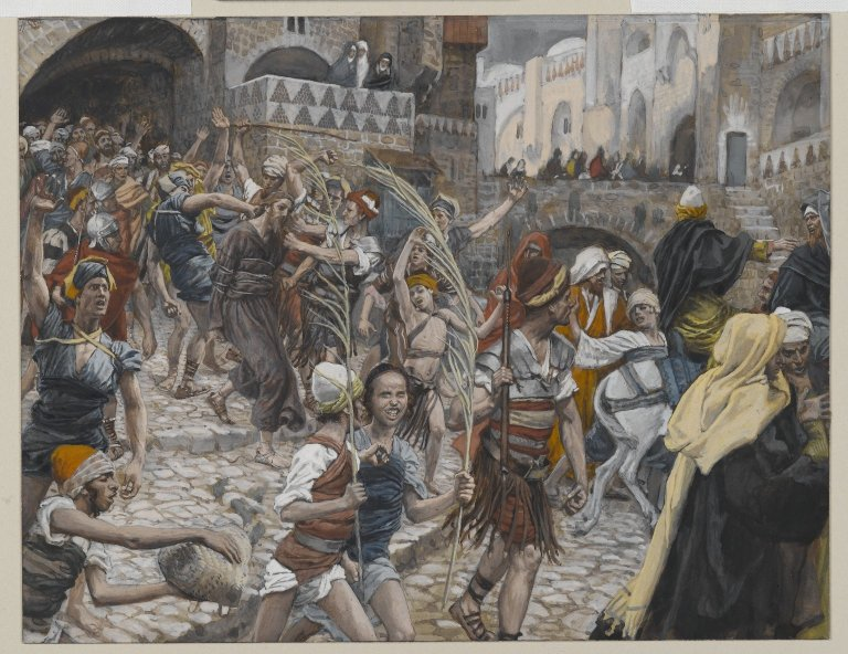 Brooklyn Museum - Jesus Led from Caiaphas to Pilate (Jésus conduit de Caïphe à Pilate) - James Tissot