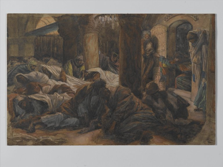 File:Brooklyn Museum - The Madgalene Runs to the Cenacle to Tell the Apostles that the Body of Jesus is No Longer in the Tomb - James Tissot.jpg