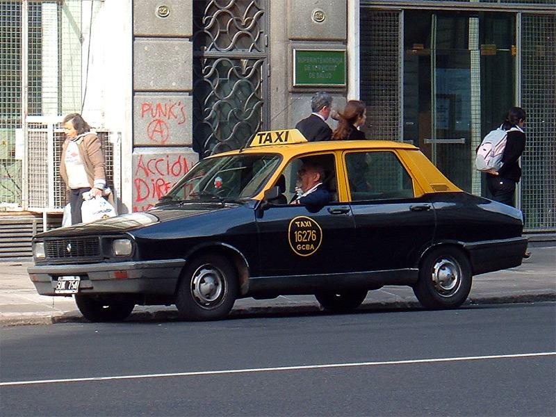 Preço do táxi em Buenos Aires