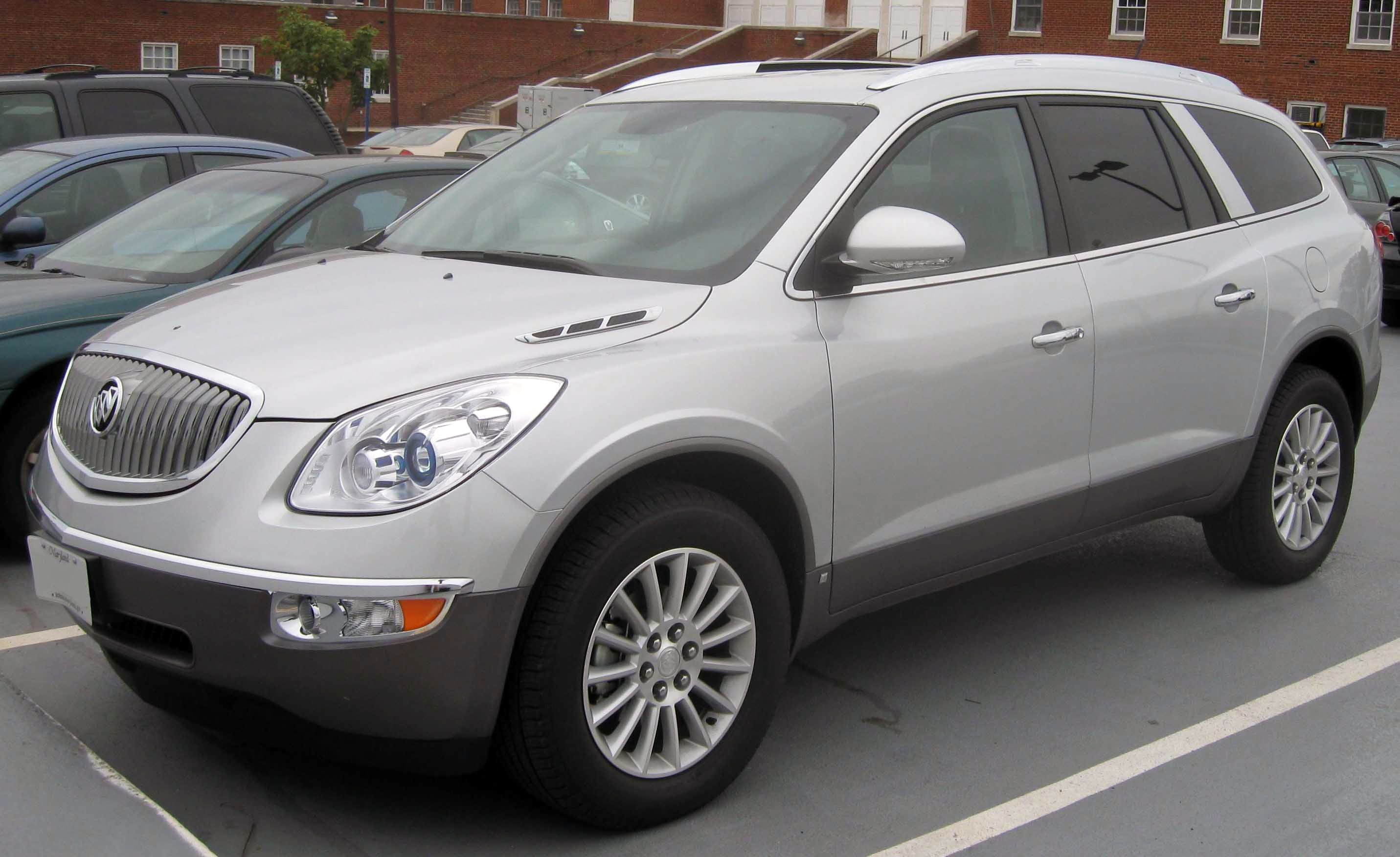 buick enclave 2008 white. filebuick enclave cxjpg buick 2008 white l