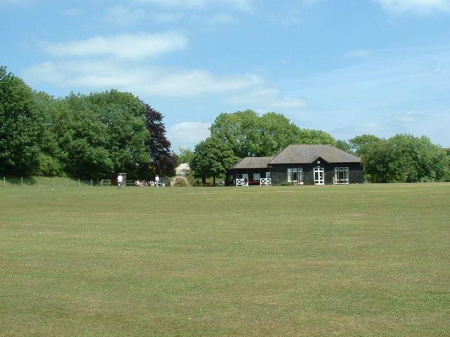 Burpham Cricket Pitch - geograph.org.uk - 21787