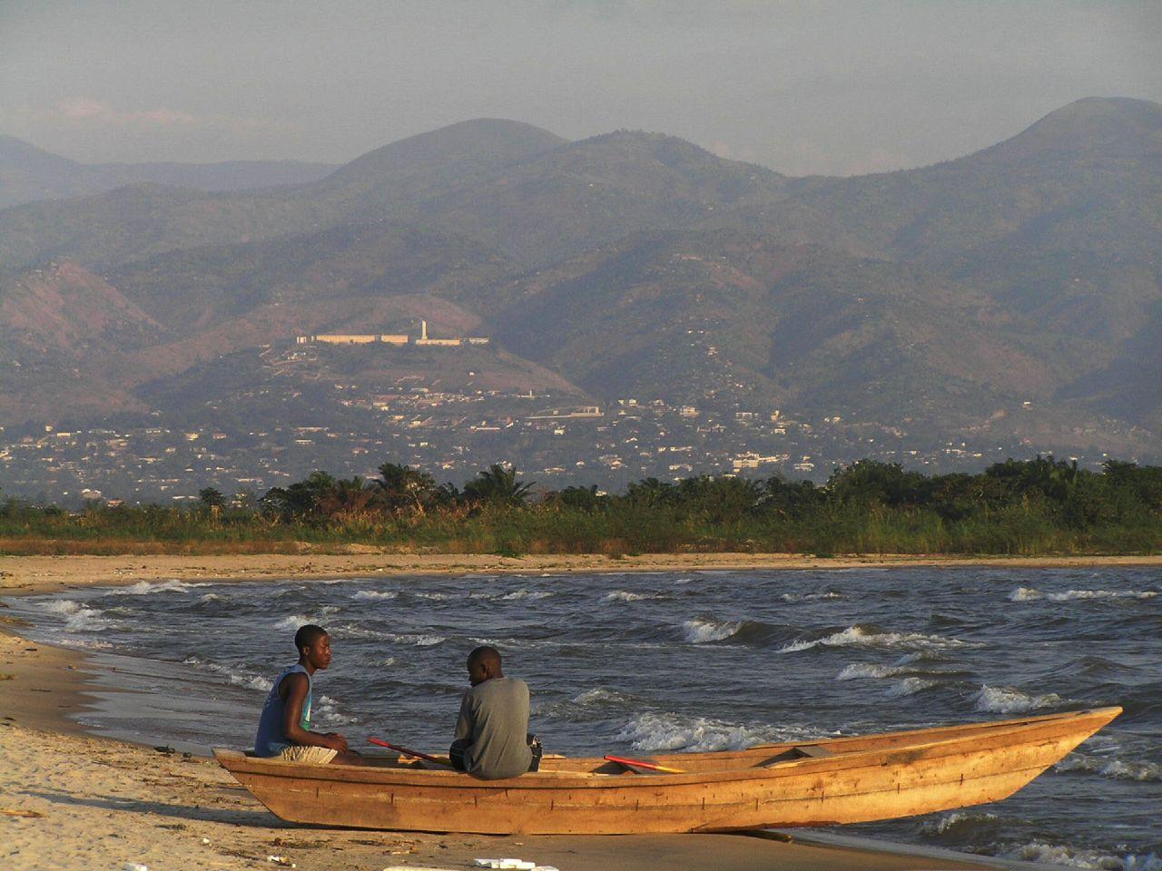 Nelayan di Danau Tanganyika.