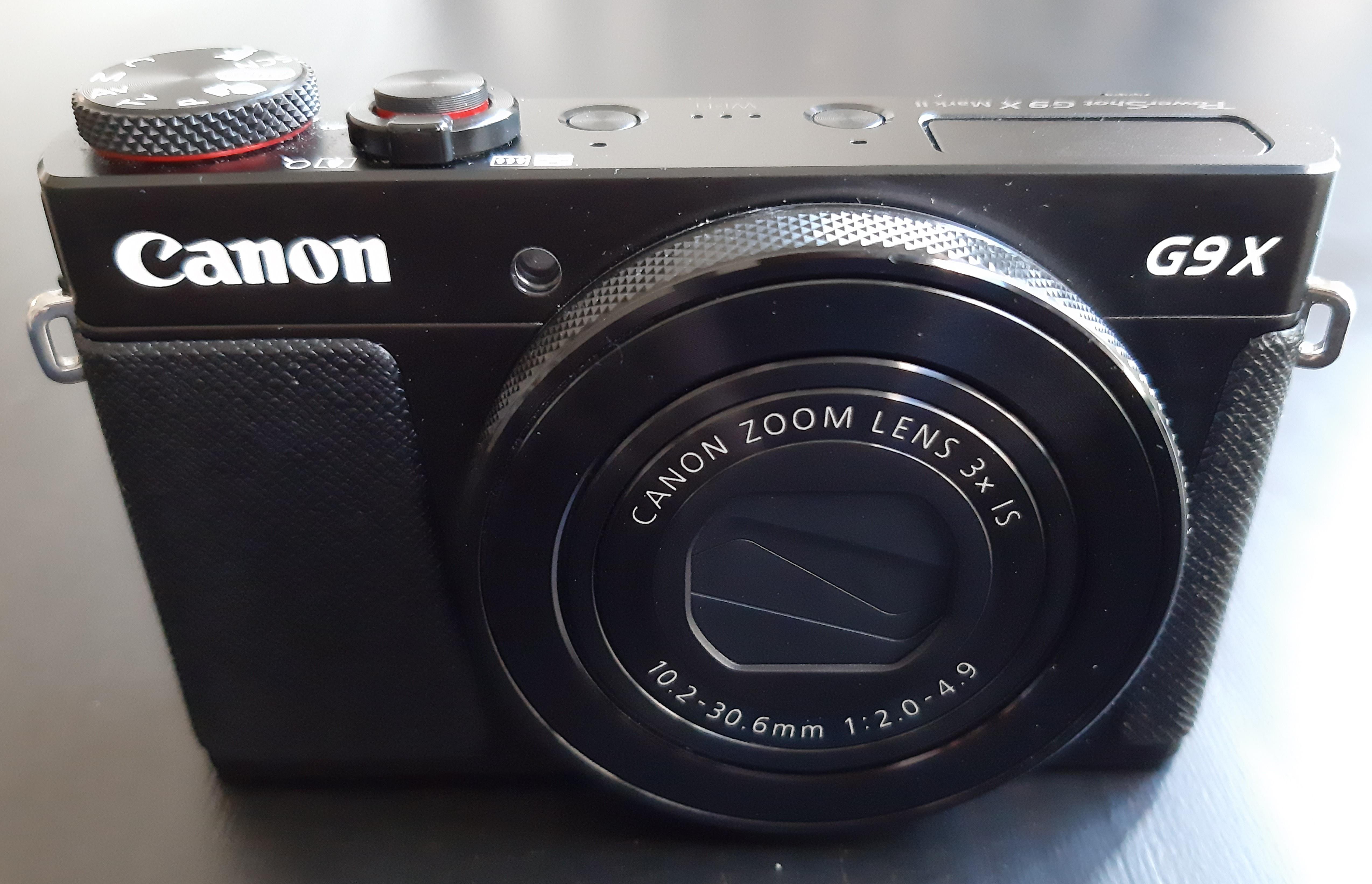 Canon Powershot G9 X Mark II – Wikipedia