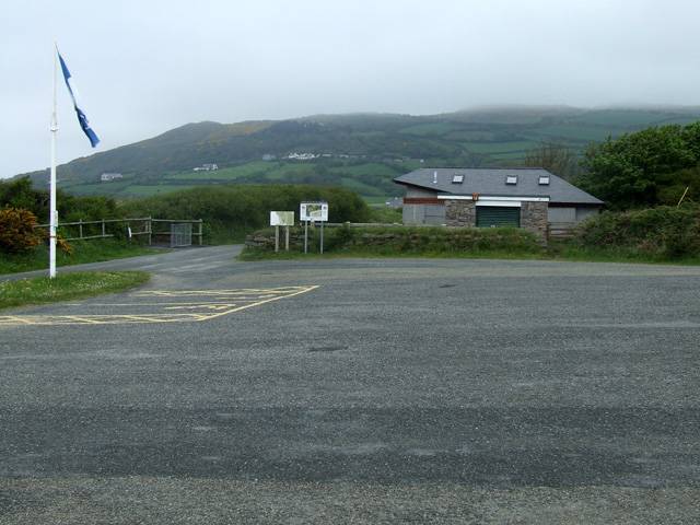 Carpark at Eastern side of Red Wharf Bay - geograph.org.uk - 169272