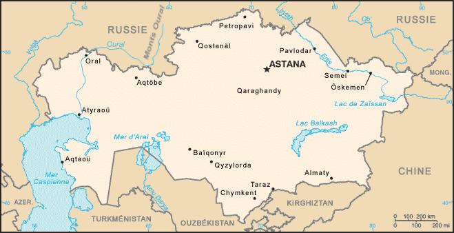 Marine kazakhe Carte_Kazakhstan