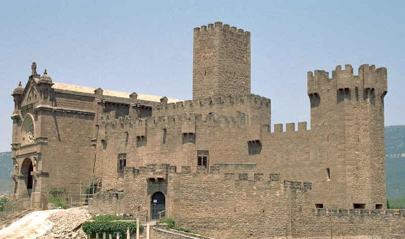 imagen castillo javier wikipedia