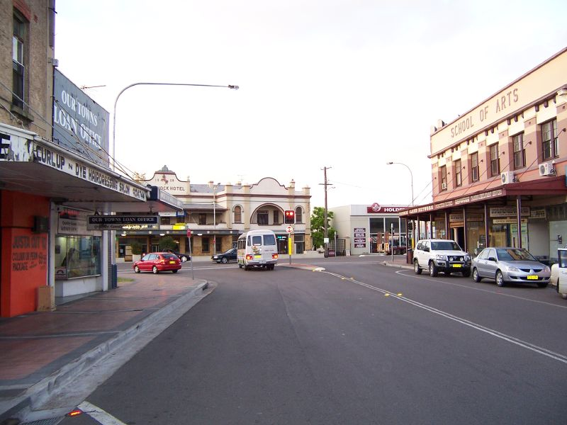 Towns in hunter valley