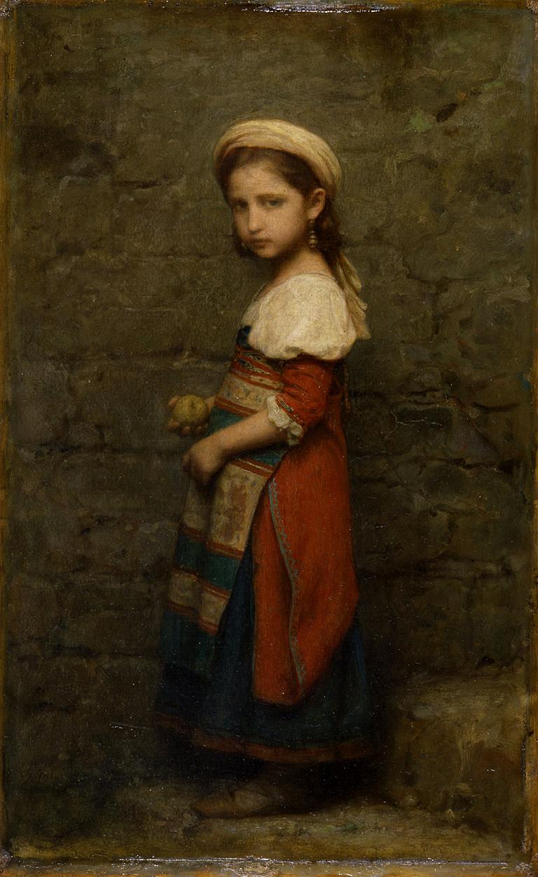 Charles François Jalabert - Italian Girl - Walters 3791.jpg