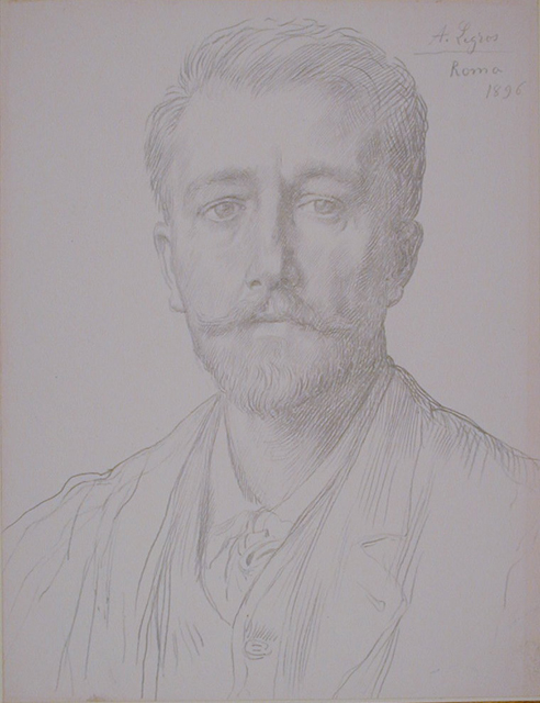 Charles Holroyd in 1896. Drawing by [[Alphonse Legros