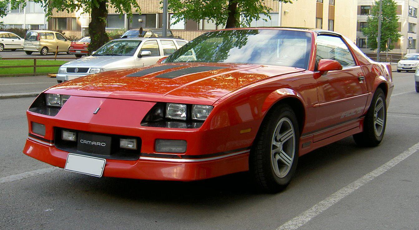 Iroc Z Wiki >> File:Chevrolet Camaro IROC-Z-4.jpg - Wikimedia Commons