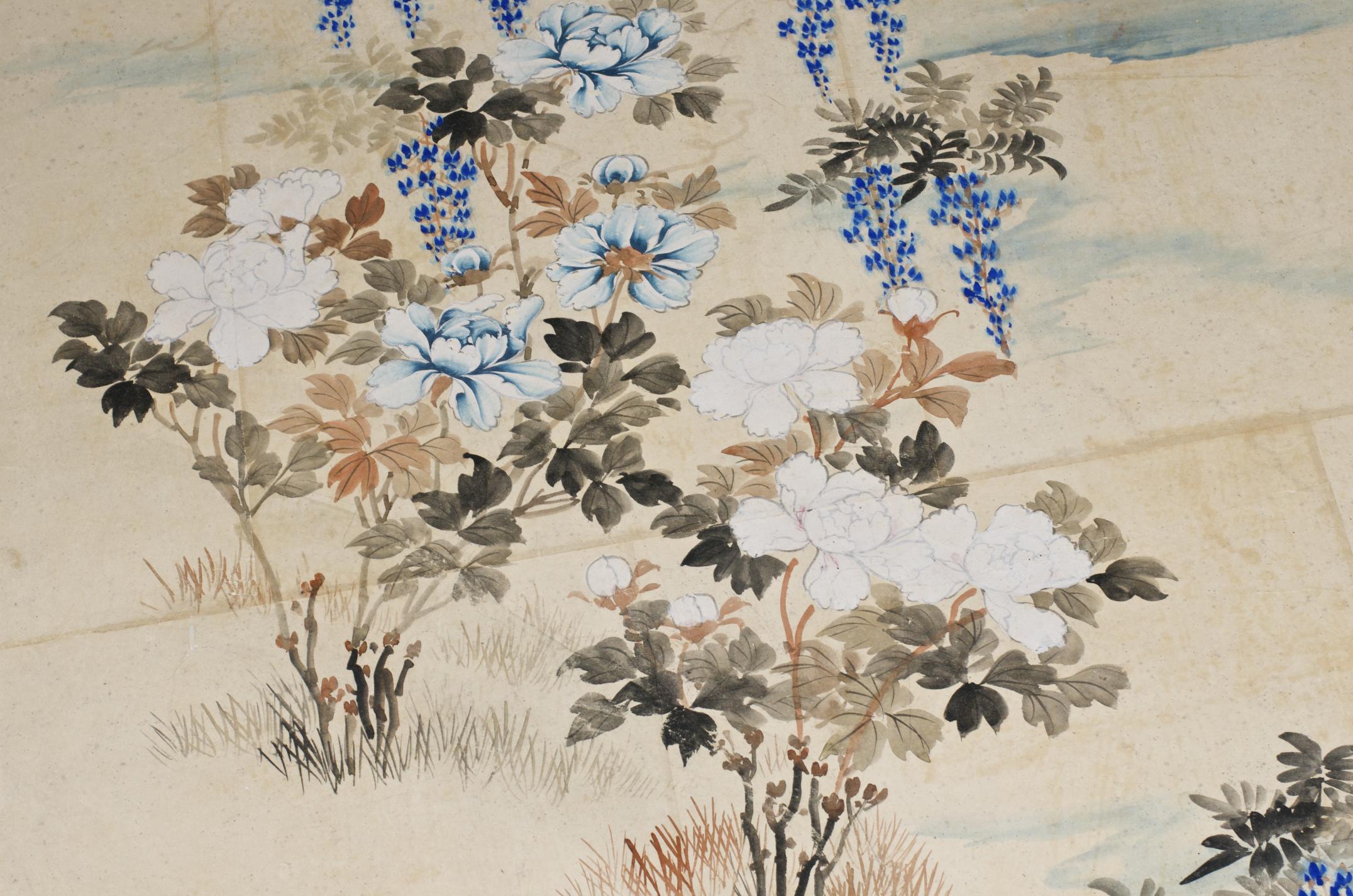 vintage chinese wallpaper