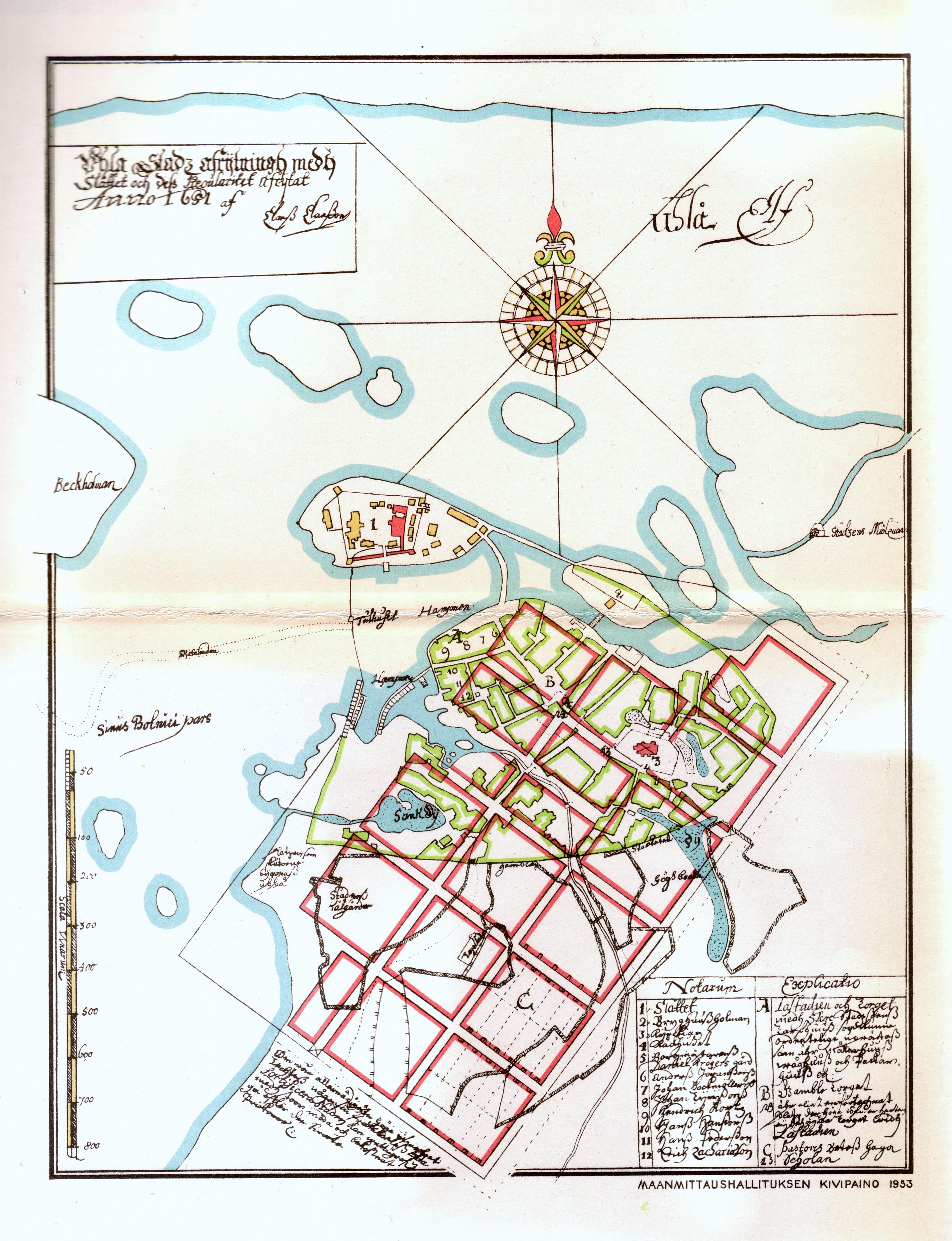 Oulun Palo 1652 Wikipedia