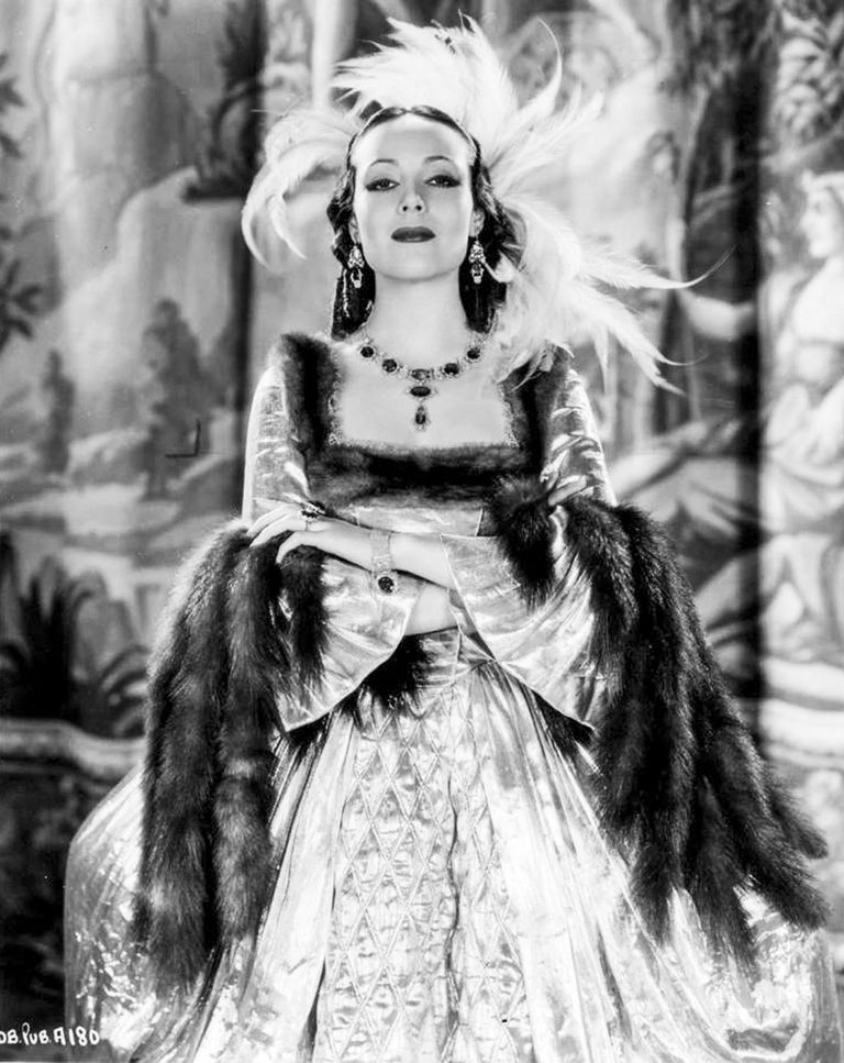 Dolores del Río en Madame Du Barry (1934).