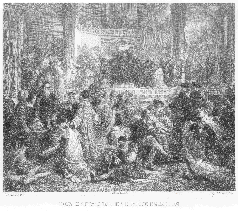 File Die Reformation Gustav Eilers Nach Wilhelm Von