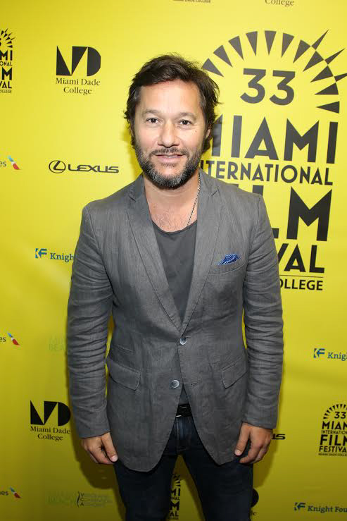 Torres at the Miami Film Festival