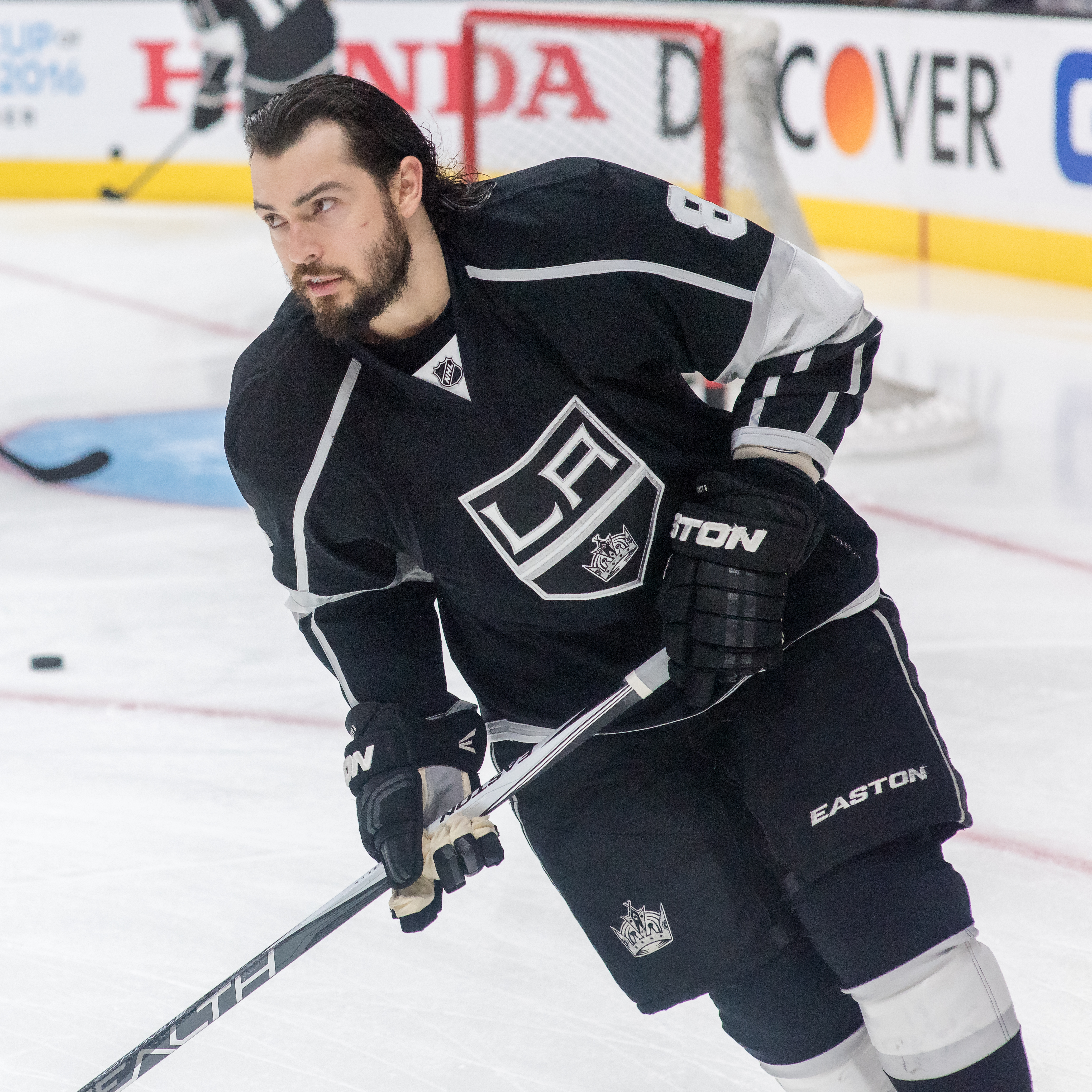 The 28-year old son of father Paul Doughty and mother Connie Doughty Drew Doughty in 2018 photo. Drew Doughty earned a 6.4 million dollar salary - leaving the net worth at 28 million in 2018