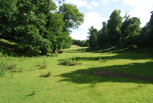 Dry Valley, Knole Park - geograph.org.uk - 857606