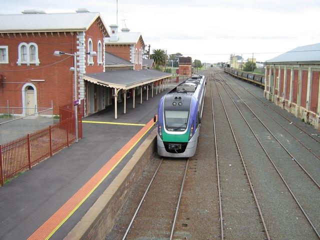 Echuca railway station - Wikipedia