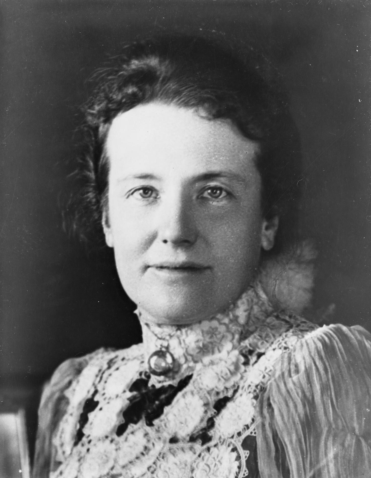 Theodore And Bella Card: Edith Roosevelt