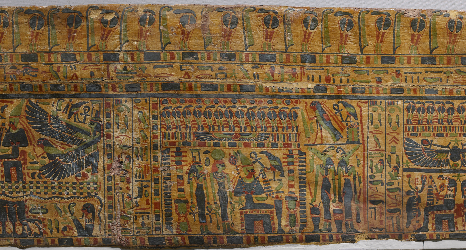 Egyptian Colored Paintings