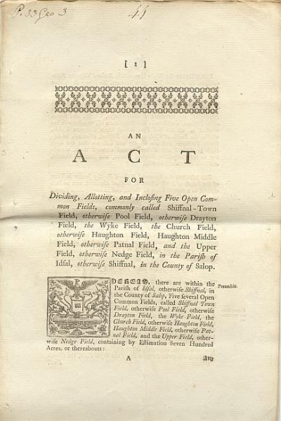 Enclosure act