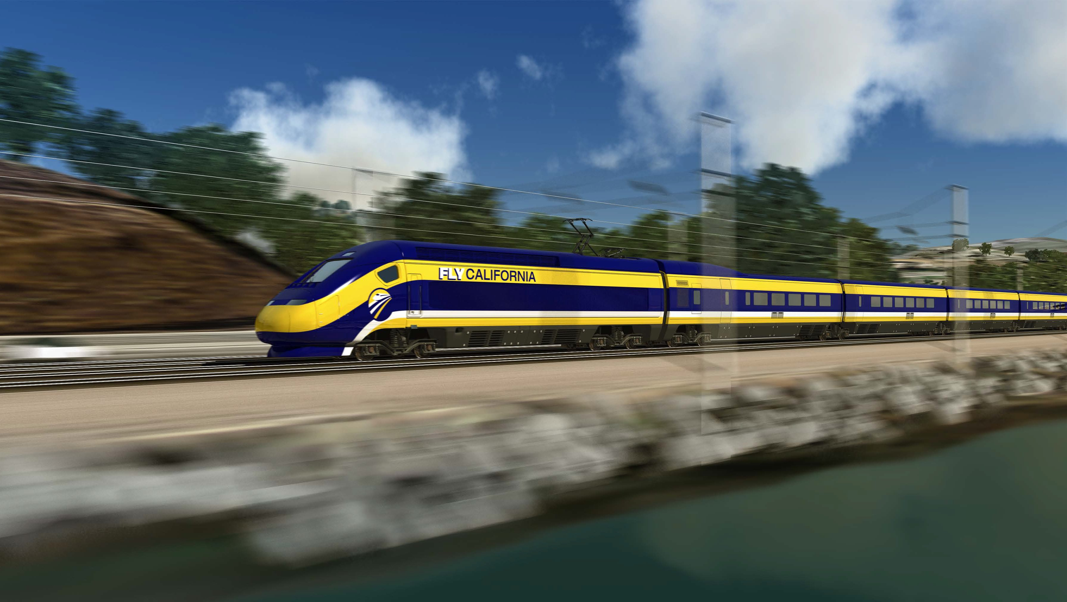 L A County Communities Fight Planned Bullet Train Route