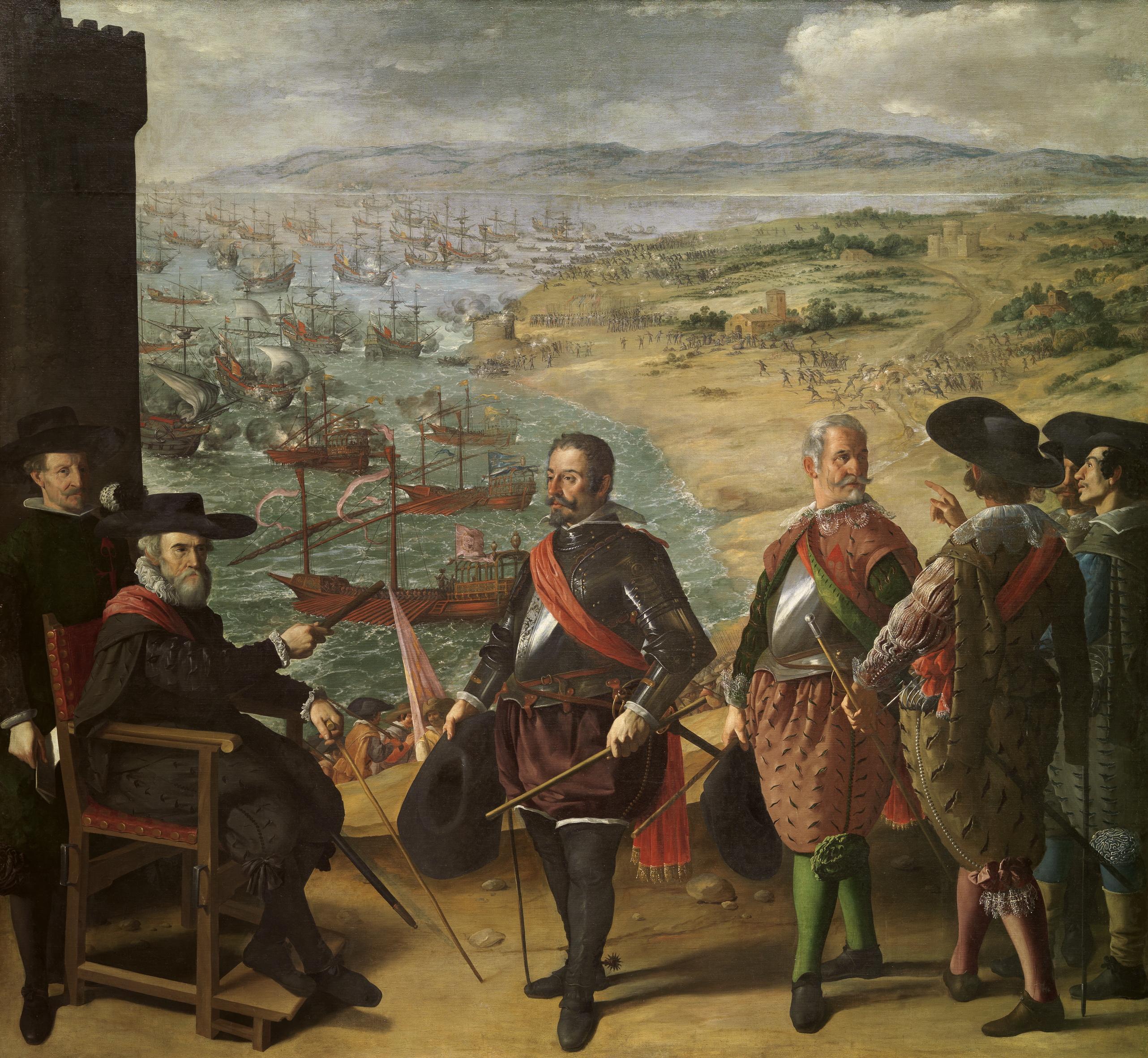 The defense of Cadiz, by Zurbarán.